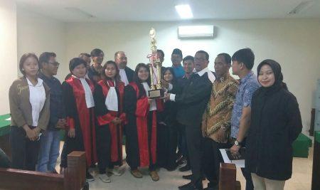 JUARAI INTERNAL MOOT COURT COMPETITION  PRAKTEK PERADILAN PIDANA