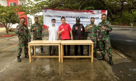 Bakti Sosial UTA'45 Jakarta Ikut Serta Penanganan Covid-19 #LawanCorona