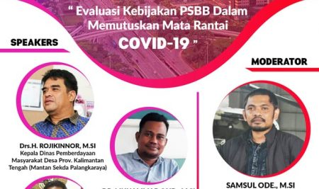 WEBINAR FISIP 'Evaluasi Kebijakan PSBB Dalam Memutus Mata Rantai COVID-19'