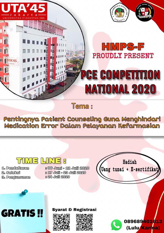 PCE COMPETITION NATIONAL 2020
