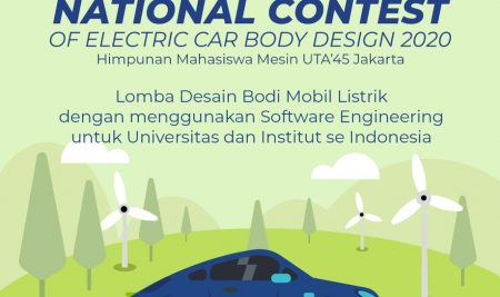 NATIONAL CONTEST OF ELECTRIC CAR BODY DESIGN 2020