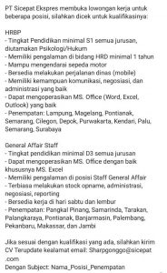 Cari Kerja Part Time Surabaya