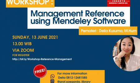 Workshop Menggunakan Reference Management Tools