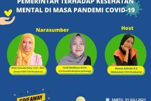 Pamflet Kegiatan Webinar. (Foto: Instagram @gemahripahuta45)