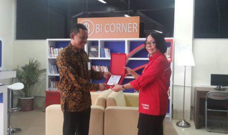 Aktivasi Bank Indonesia Corner di UTA'45 Jakarta